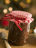 Jar of Mincemeat — Stock Photo