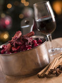 Cranberry Sauce and Ingredients — Stock Photo