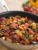 Ratatouille in a Saute Pan — Stock Photo