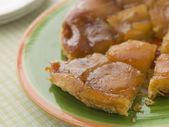Slice of Tarte Tatin aux Pomme — Stock Photo