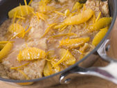 Crepe Suzette — Stock Photo