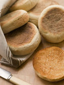 Toasted English Muffins — Stock Photo