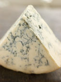Kil av engelsk stilton ost — Stockfoto