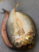 Two Loch Fyne Kippers — Stock Photo