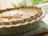 Baked Short Crust Pastry Pie — Stock Photo