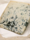 Wedge of Leicestershire Stilton Cheese — Стоковое фото