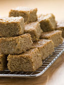 Pieces of Flapjack — Stock Photo