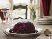 Summer Pudding — Stock Photo