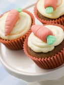 Carrot Cup Cakes — Stock Photo
