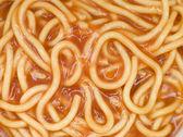 Spaghetti in Tomato Sauce — Stock Photo