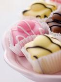 Fantazyjne torty kremówki — Zdjęcie stockowe