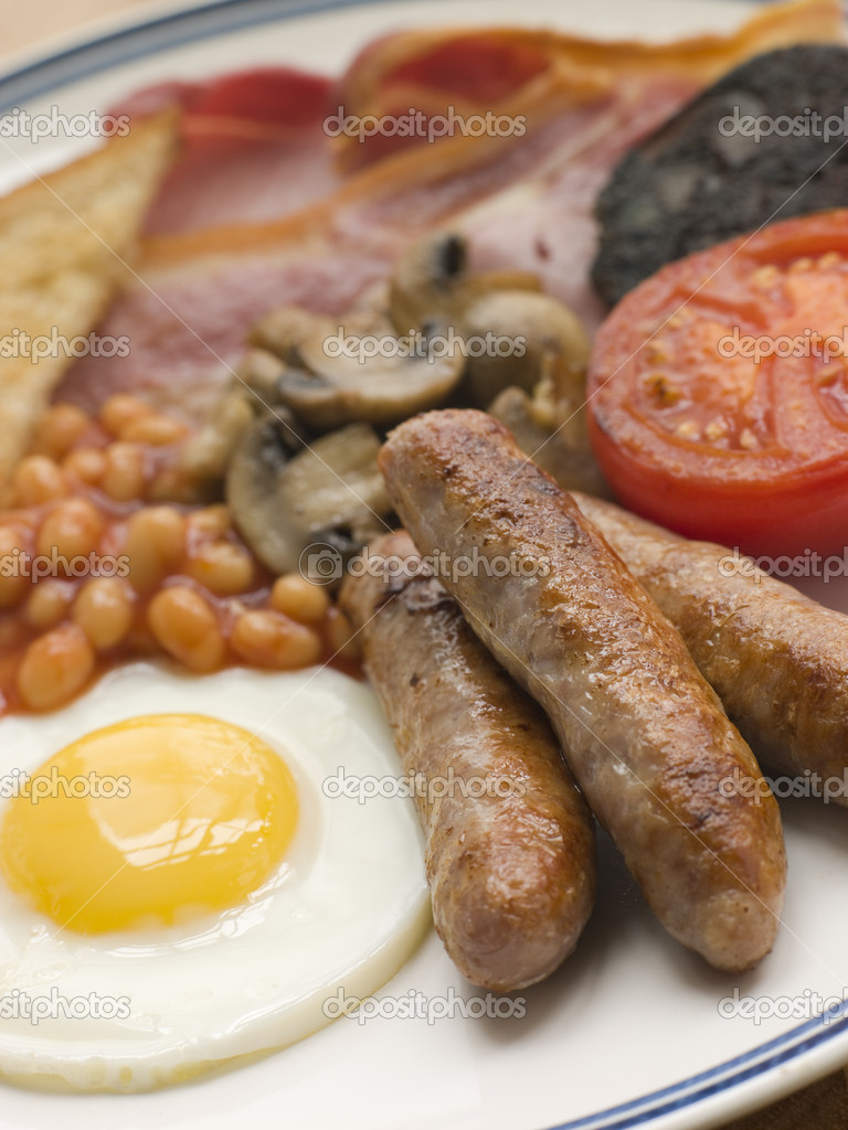 Full English Breakfast  Stock Photo #4765924