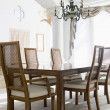 Empty dining room — Stock Photo