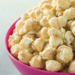 Stock Photo: Bowl Of Toffee Popcorn