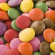 Sugar Coated Chocolate Buttons (Smarties) — Stock Photo #4777565