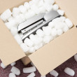 Royalty-Free Stock Photo: A Package Containing A Stapler