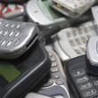 Pile Of Used Mobile Phones — Stok Fotoğraf #4778019