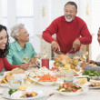 Family All Together At Christmas Dinner — Stock Photo #4778415