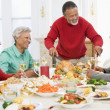 Family All Together At Christmas Dinner — Stock Photo #4778416