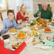 Family All Together At Christmas Dinner — Stock Photo #4778467