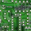 Close Up Of Circuit Board - Stok fotoraf