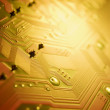 Stock Photo: Close Up Of Circuit Board
