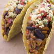 Filled Tacos - Stock Photo