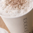 Close Up Of Hot Chocolate - Stock Photo