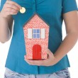 Foto Stock: Saving For House