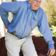 Stock Photo: Man With Back Pain
