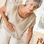 Woman Feeling Unwell — Stock Photo