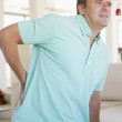 Man With Back Pain — Stock Photo