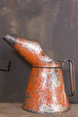 Rusty Oil Can — Stock Photo