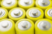 Rows Of Batteries — Stock Photo