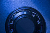 Close-Up Of Safe Dial — Stock Photo