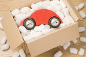 Car In A Box — Stock Photo