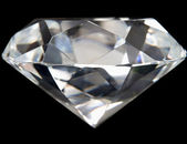 Close up of Perfect Diamond — Stock Photo