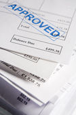 Approved Invoices — Stock Photo