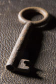 Close-Up Of Old-Fashioned Key — Stock Photo