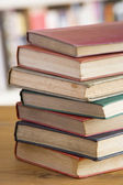 Stack Of Books On Table — Stockfoto