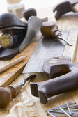 Assortment Of Old-Fashioned Tools — Stock Photo