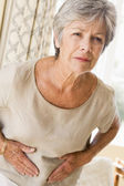 Woman Feeling Unwell — Stock Photo