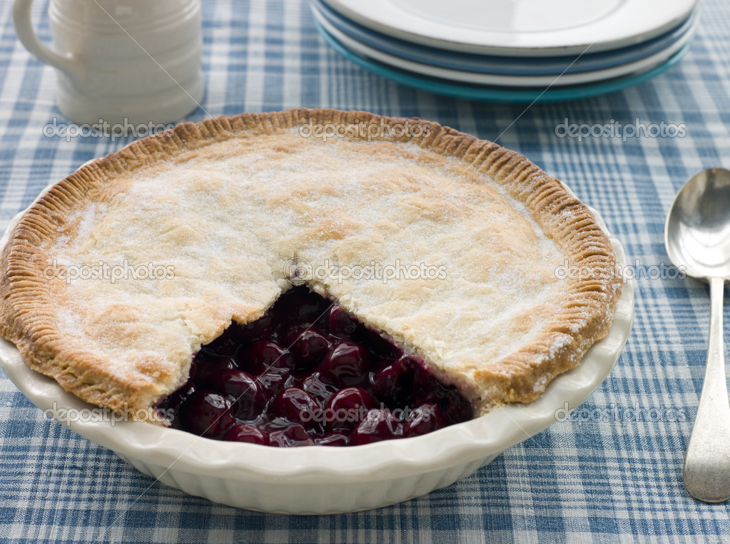 Cherry Pie  Stock Photo #4777585