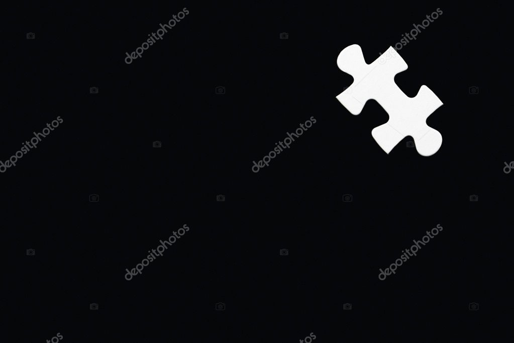 Single Puzzle Piece — Stock Photo #4778851