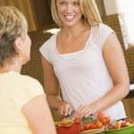 Women Preparing Dinner — Stock Photo #4780817