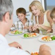 Family Eating A meal,mealtime Together — Stock Photo
