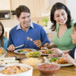 Family Enjoying meal,mealtime Together — Stock Photo #4781067