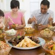 Family Enjoying meal,mealtime Together — Stock Photo
