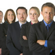Team Of Business — Stock Photo