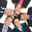 Stock Photo: High Angle View Of Business